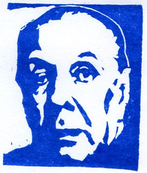Borges - carving -