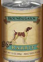 Hound & Gatos American Rabbit is the number one Hound & Gatos Item - Pawrific!