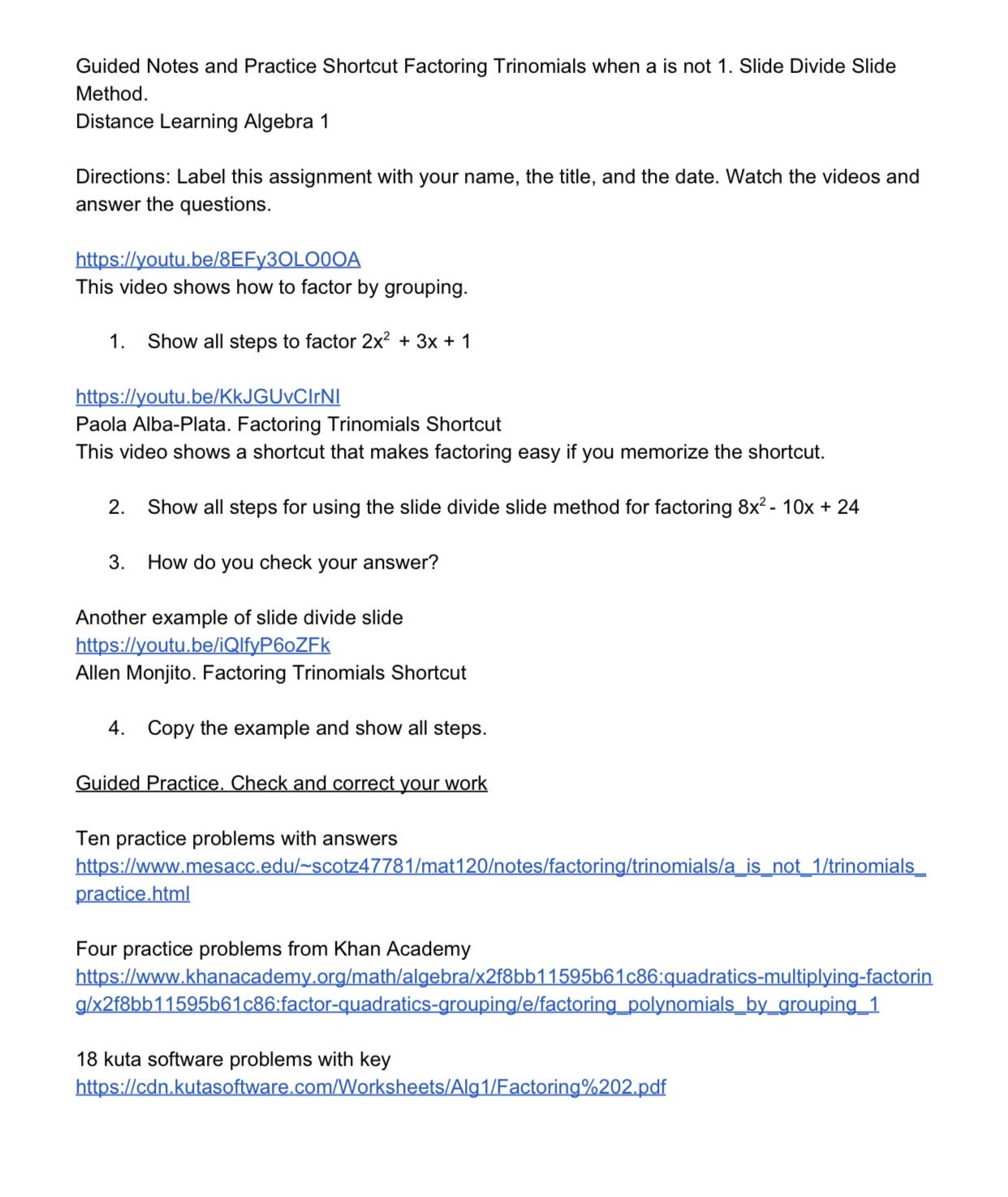 Kuta Software Multiplying Polynomials Worksheet Answers