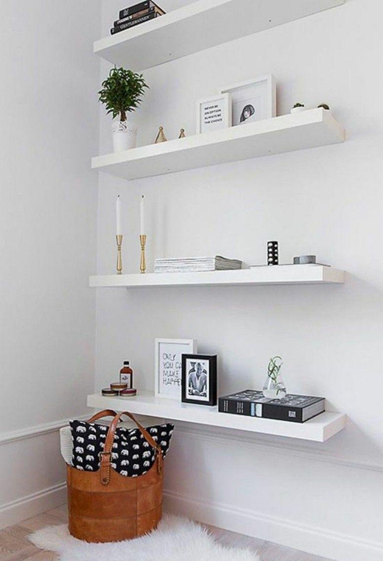 Wohnzimmer Deko Regal in 9  Floating shelves, Diy home decor