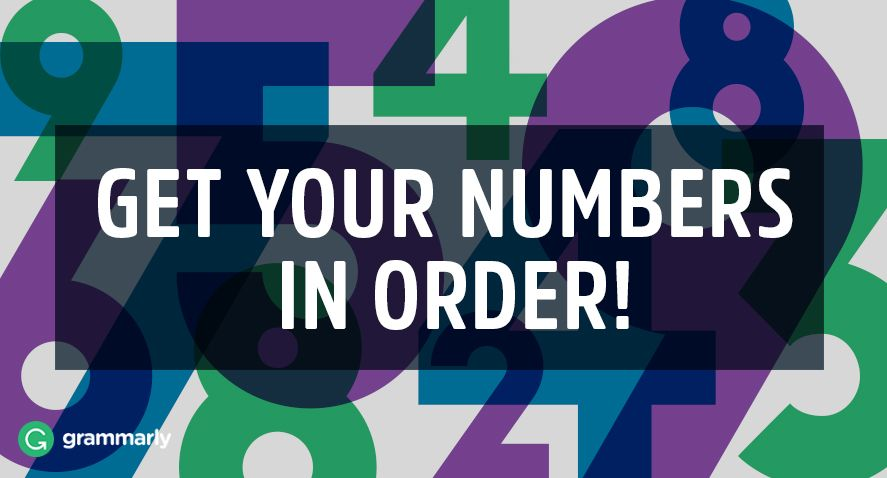 How to Write Ordinal Numbers Correctly