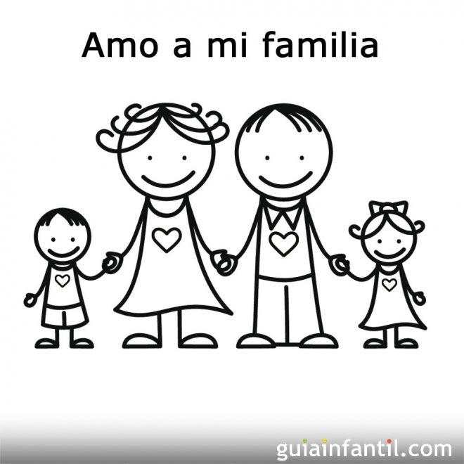 Dia De La Familia Infantil Buscar Con Google Fichas De Trabajó