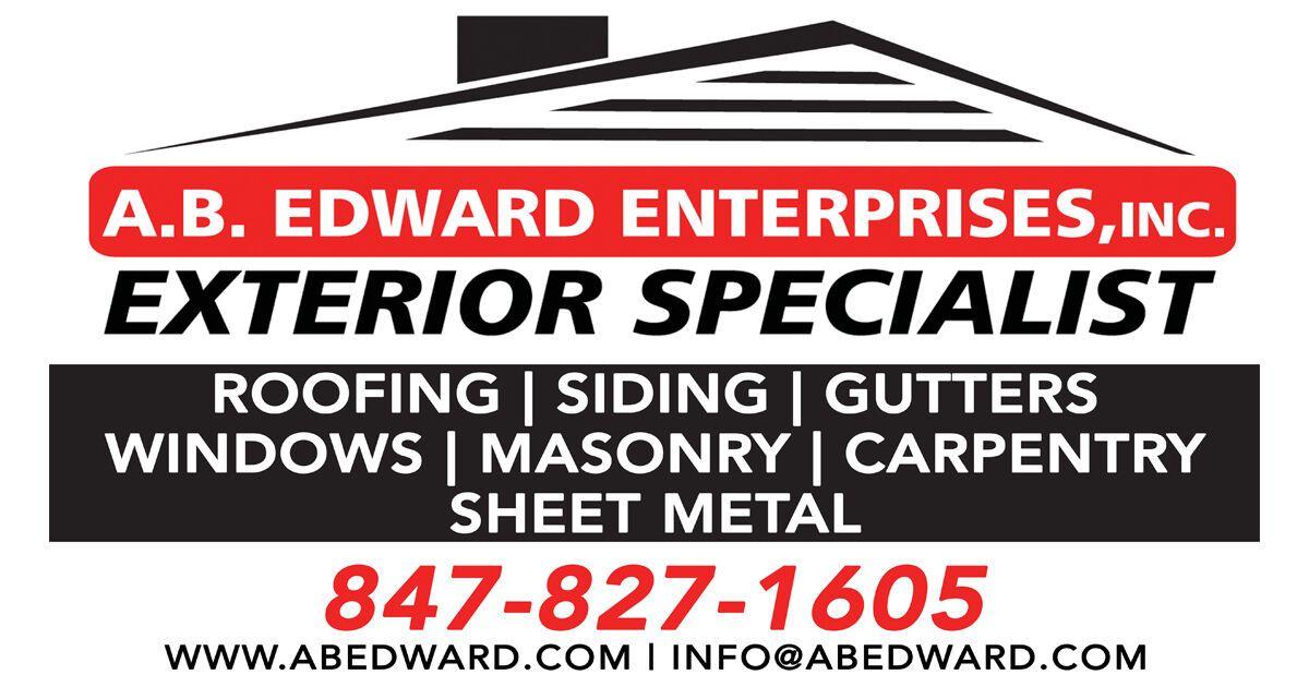 Ab edward enterprises inc roofing siding windows