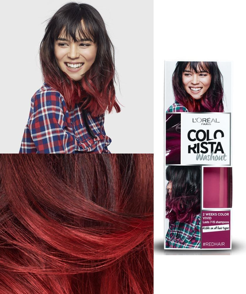 Image Result For Colorista Washout Red Beauty In 2018 Pinterest