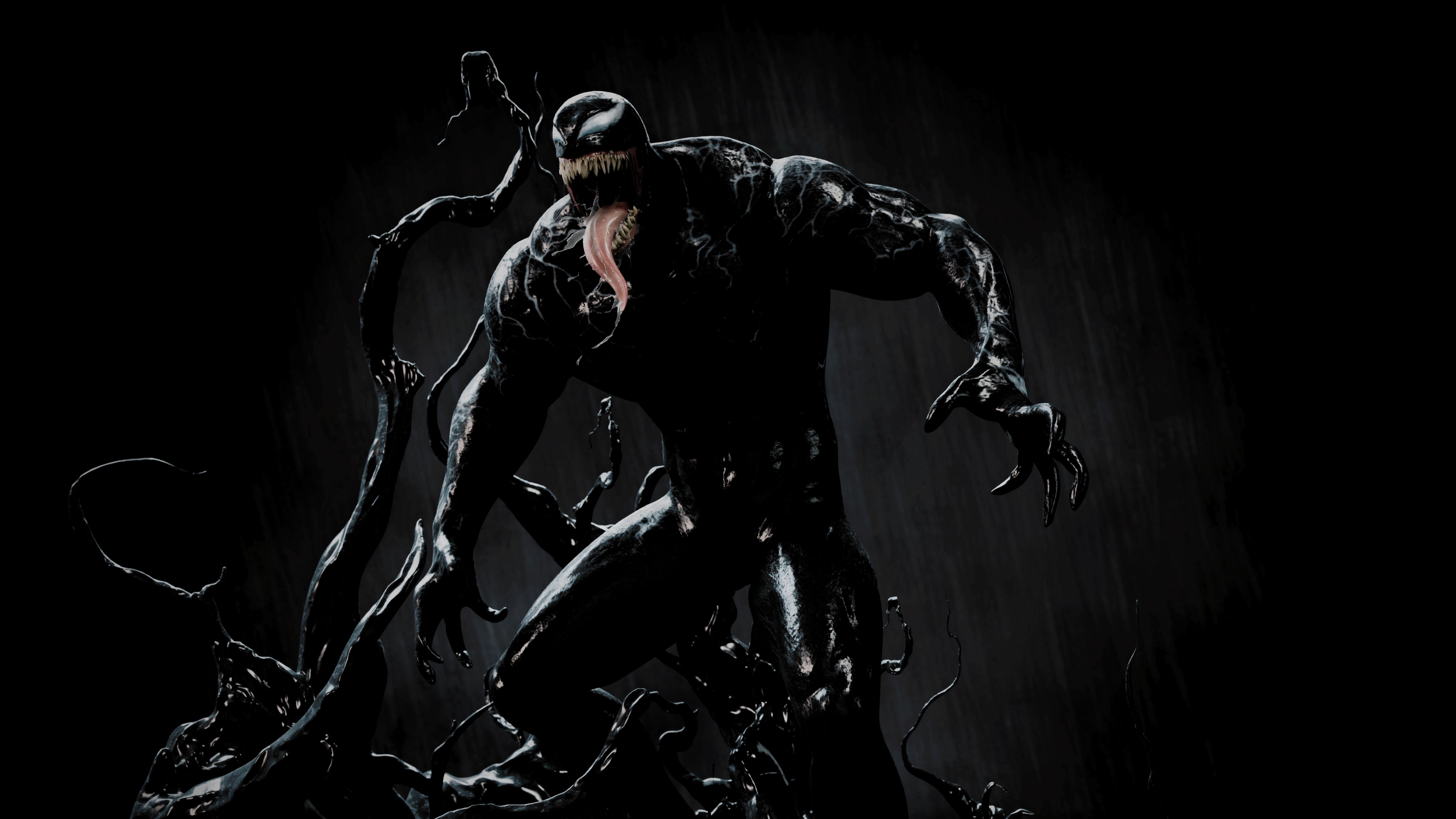 Venom Artwork 4K 8K Venom, Wallpaper, Artwork