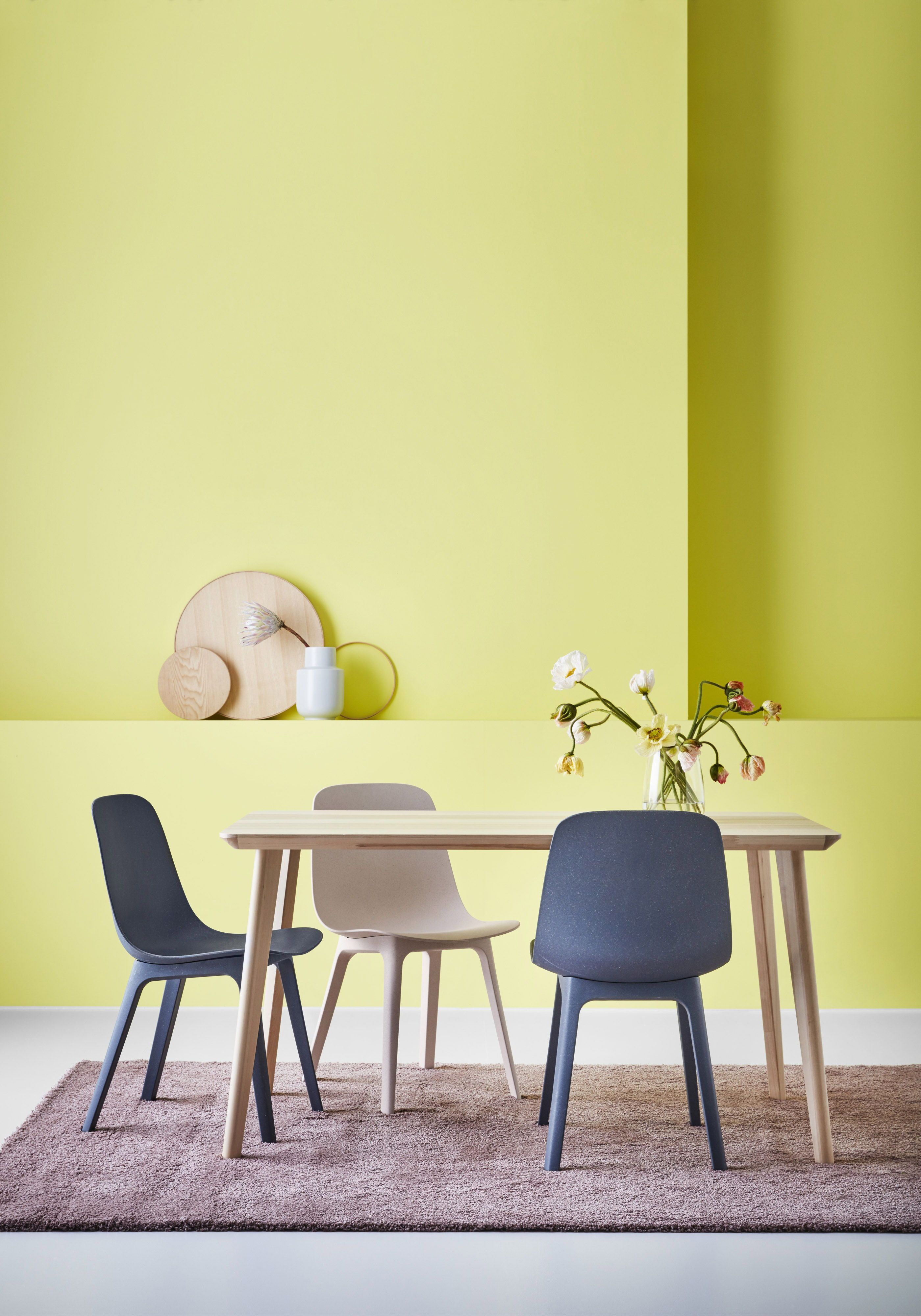 Eetkamer Stoel Ikea.Odger Eetkamerstoel Blauw In 2020 Eetkamerstoelen Ikea