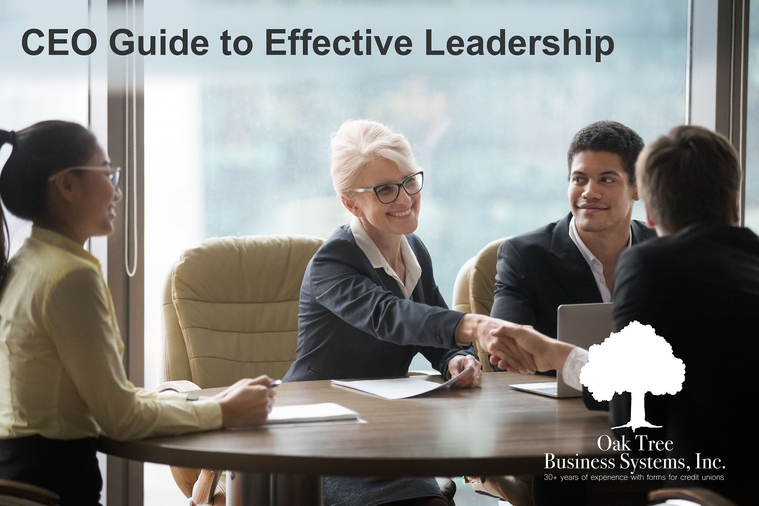 Oak tree in cues about ceo guide to effective leadership
