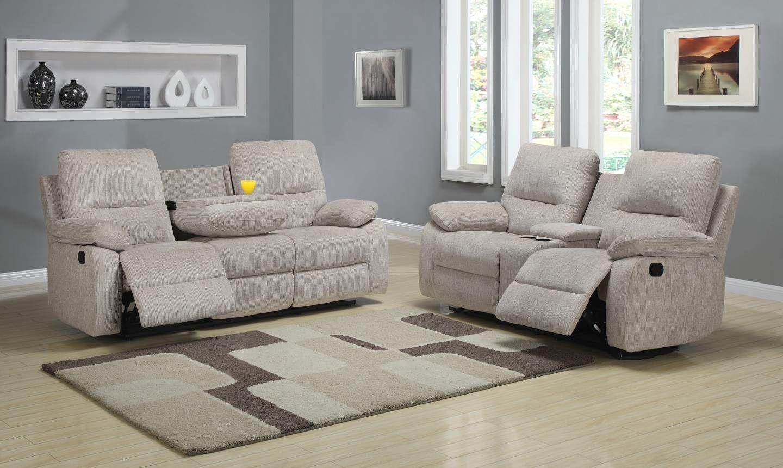 Marianna chenille recliner sofa home elegance pinterest
