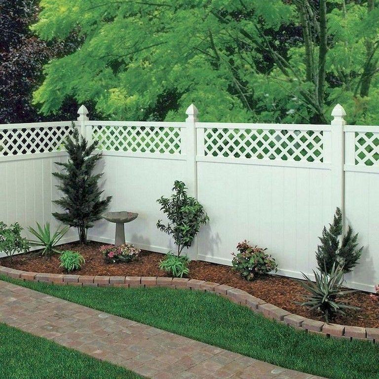 19 delicate backyard fencing concrete ideas fence
