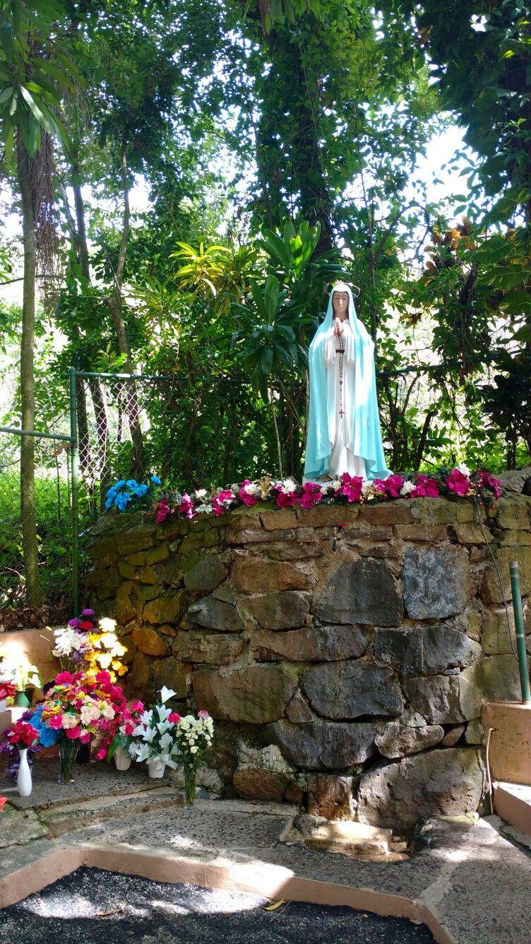 Sabana Grande, Puerto Rico. Santuario de La Virgen del Pozo ...