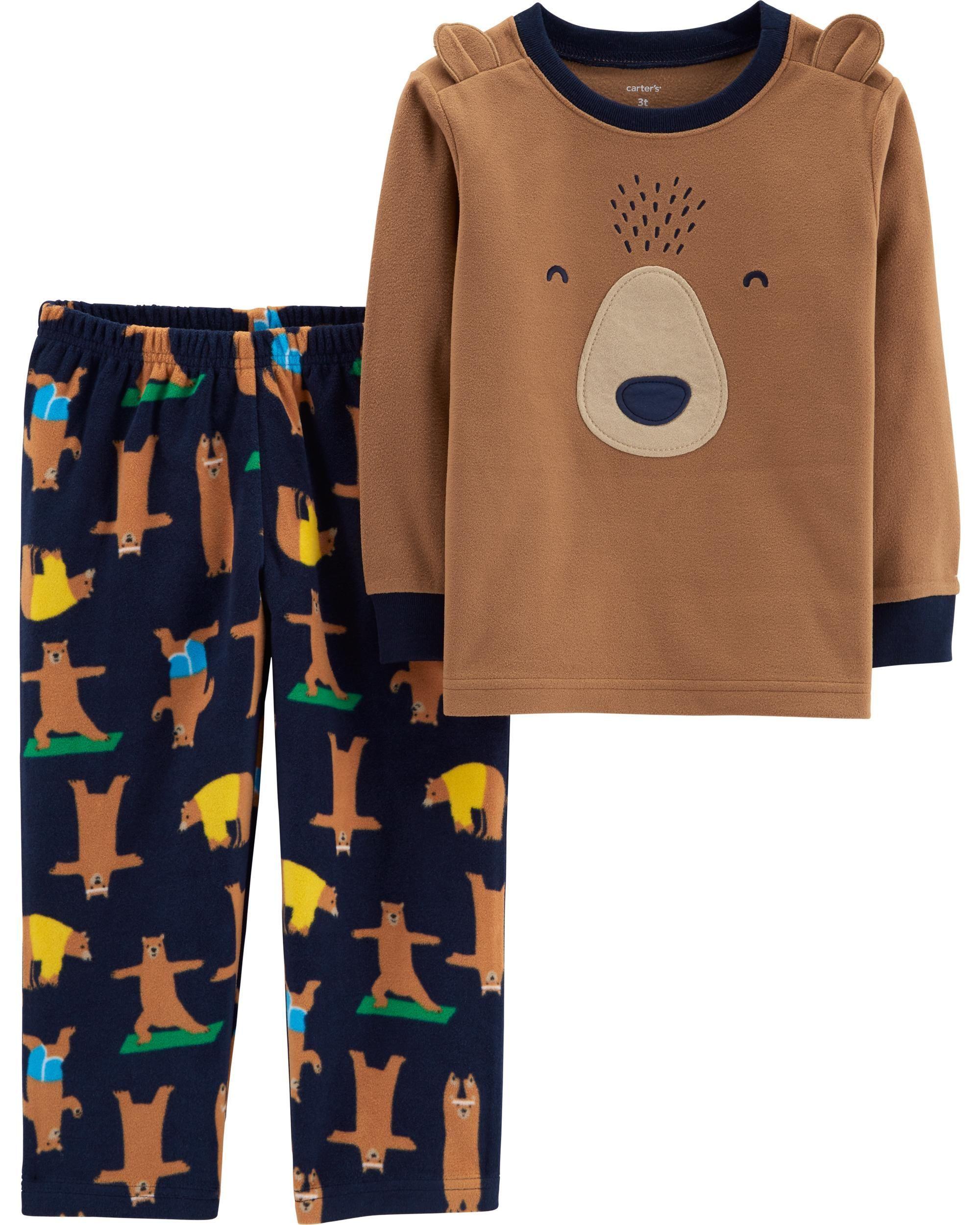 02979b98e 2-Piece Bear Fleece PJs