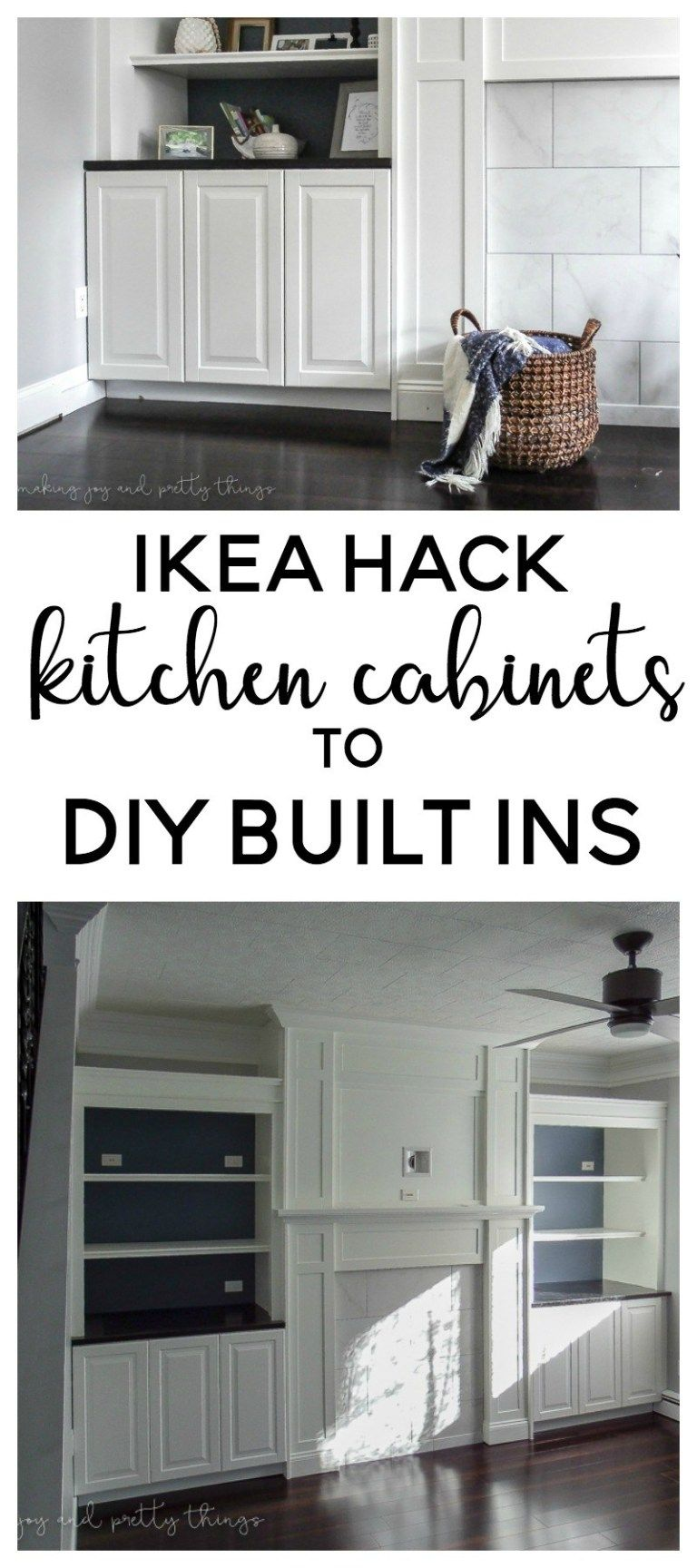 Photo of IKEA Hack: Kitchen Cabinets Turned Built Ins