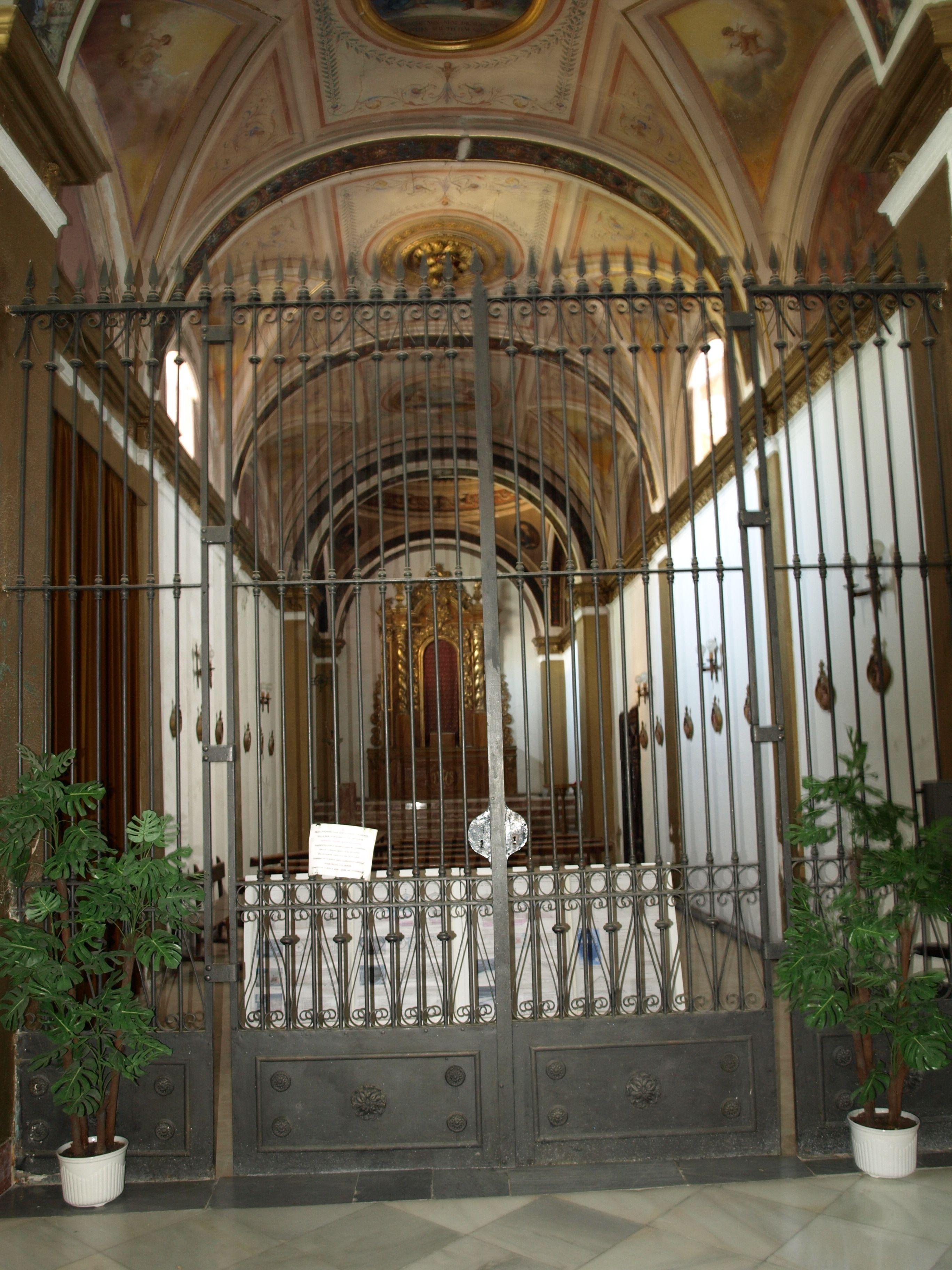 aspecto de la Capilla de Jesús antes de su restauración