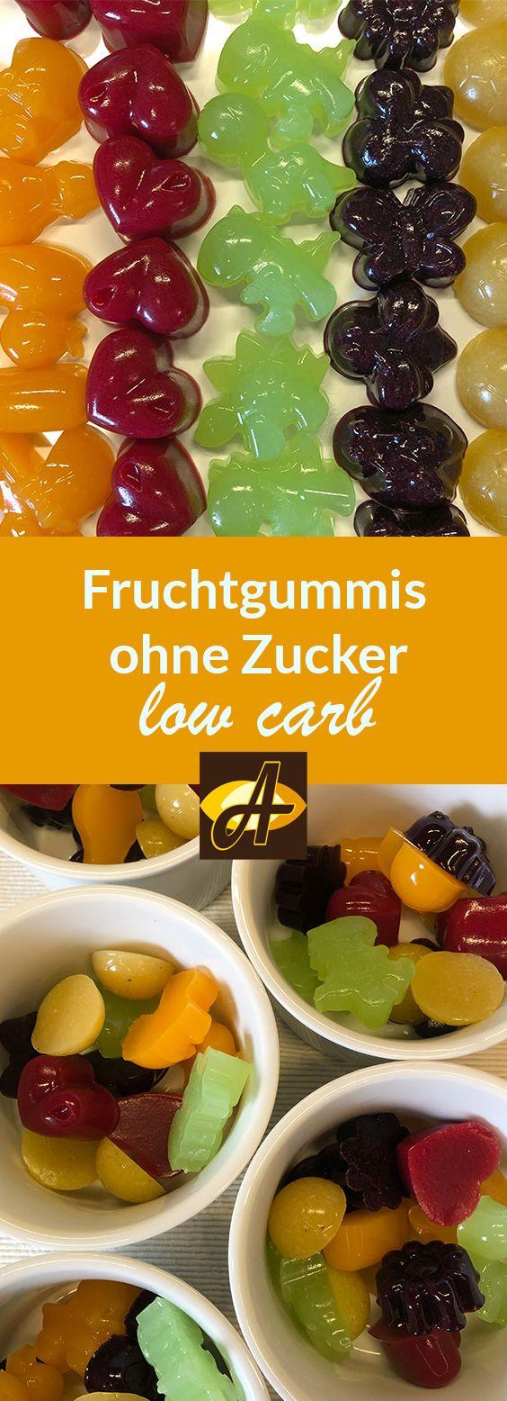 Photo of Rezept Fruchtgummis ohne Zucker lowcarb selber machen