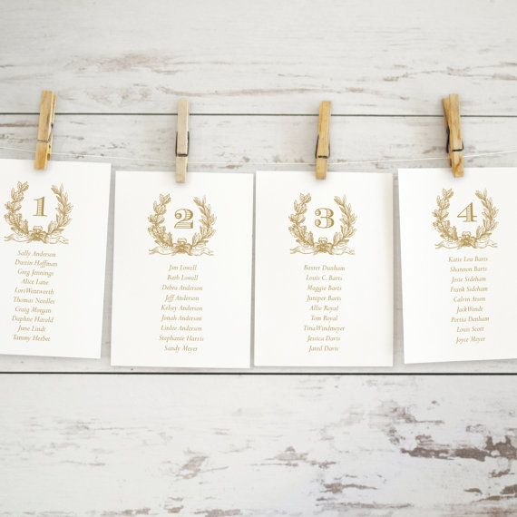 Gold Wedding Seating Chart Template Editable By Karlykdesignshop