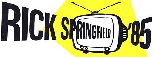 Rick Springfield Cathode Ray tour logo