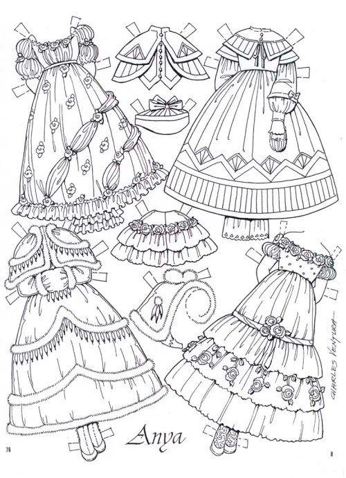 Anya Imagines by C. Ventura - clothes page #8 | Páginas Para Colorir ...