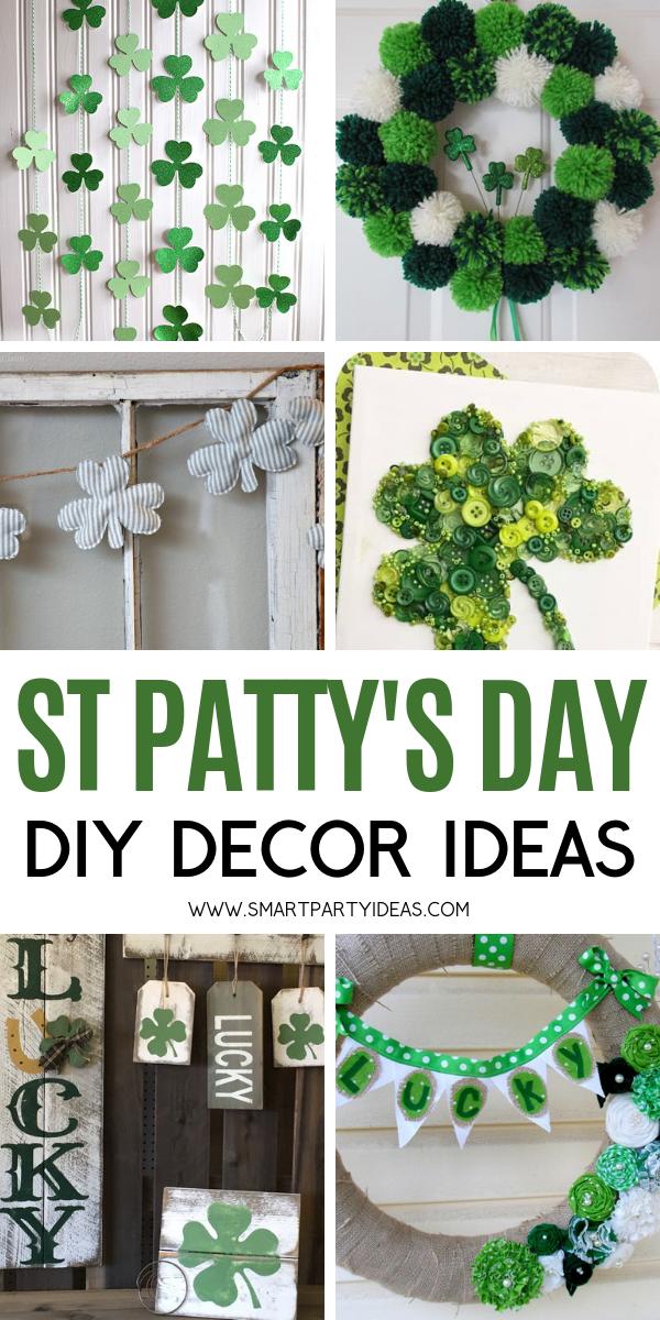 25 Diy St Patrick S Day Party Decor Ideas Smart Party Ideas Diy St Patrick S Day Diy St Patricks Day Wreath Diy St Patricks Day Decor
