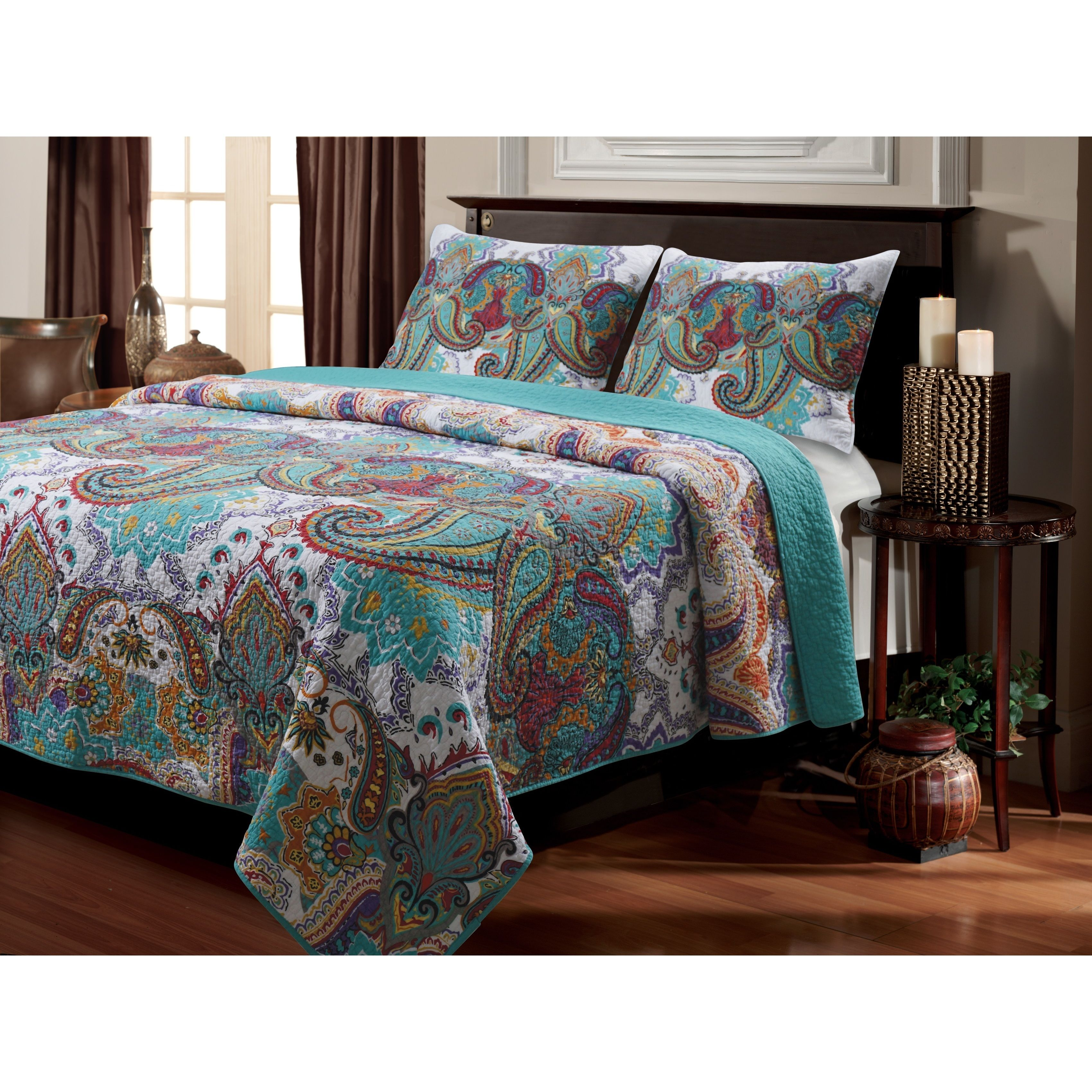 parisian pin a take this quilts look set paisley quilt at today fitted