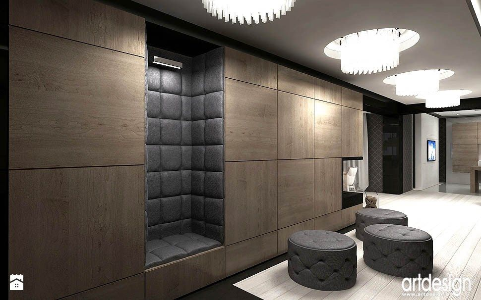 Korridor Flur Vorraum : aran acja przedpokoju zdj cie od artdesign architektura wn trz hol przedpok j styl ~ Cokemachineaccidents.com Haus und Dekorationen