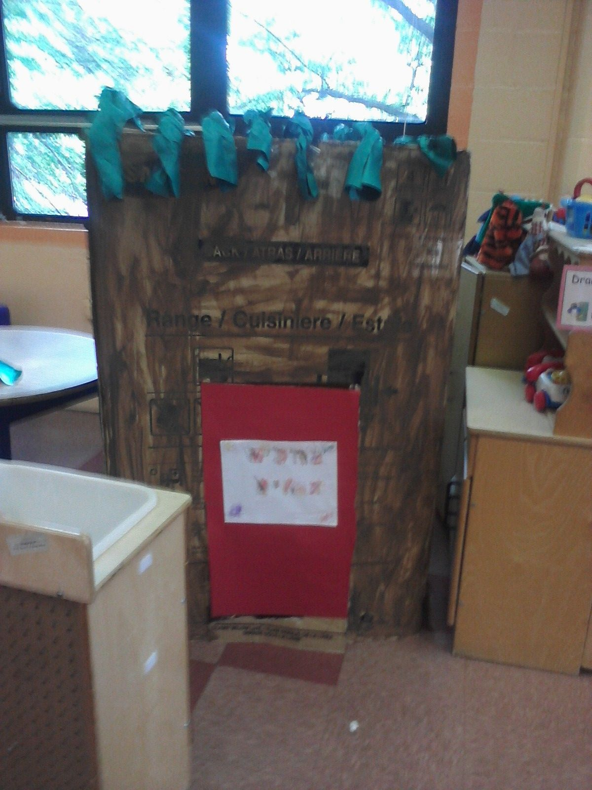 Classroom Sukkah Decorated By The Kids Of Course