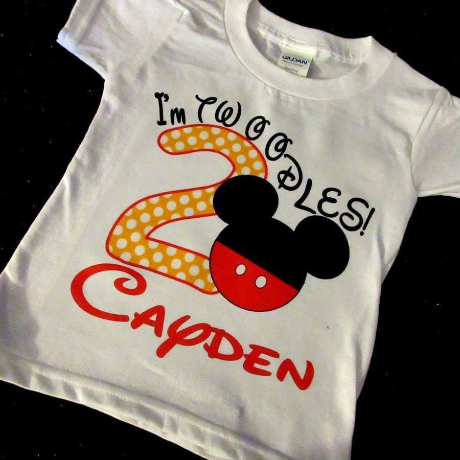 Im twoodles second birthday shirt boy 2nd birthday