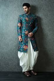 1eef9a81ee Image result for floral print sherwani | Style in 2019 | Wedding ...