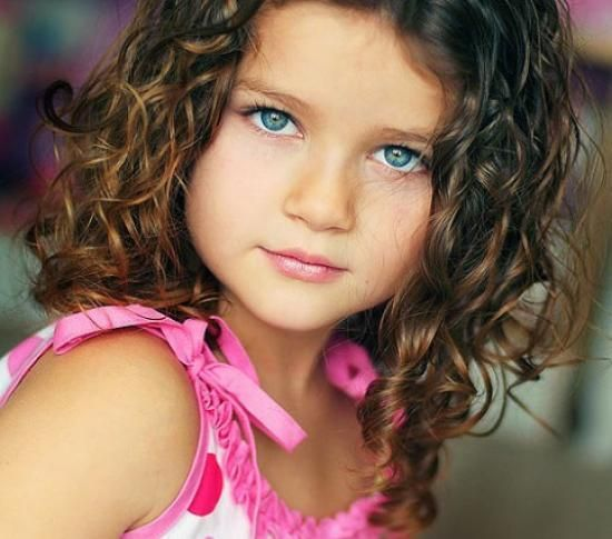 Peachy Cute Little Girl Haircuts With Bangs Curly Hair Bing Images Hairstyles For Men Maxibearus