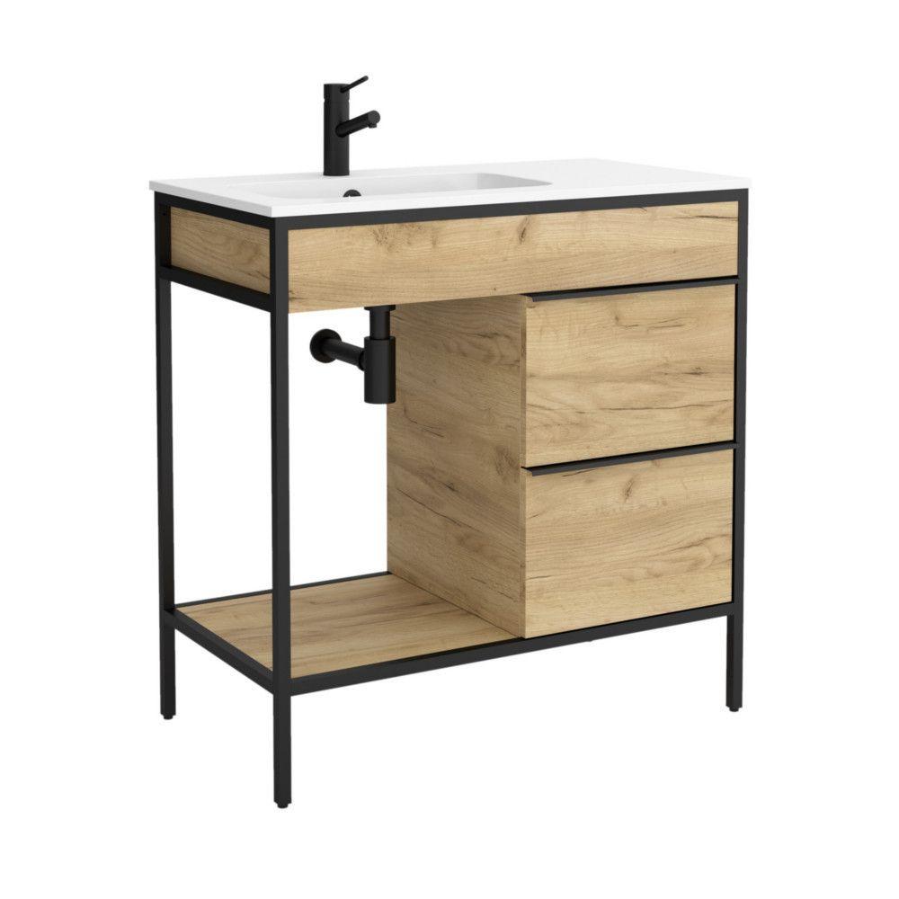 Salgar Vinci Waschtisch In 2020 Unterschrank Holzschubladen