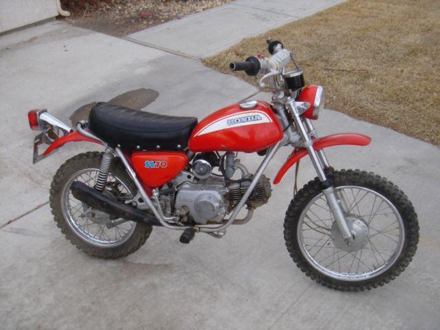 Honda Sl70k0 70cc Honda S Answer To Yamaha S Mini Enduro Jt1 Jt2 60cc Vintage Motocross Vintage Bikes Japanese Motorcycle