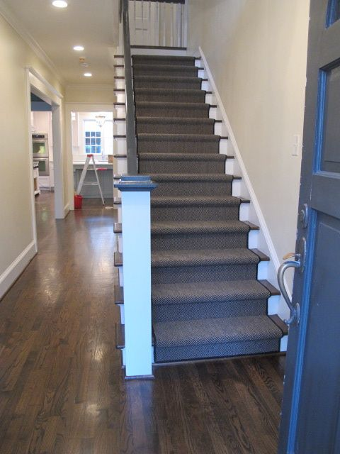Hello There Stair Runner Stairway Design Wooden Flooring   Hardwood Floors And Carpet Stairs   Top Step Carpet   Middle   Decorative   Wood   Colour Wall