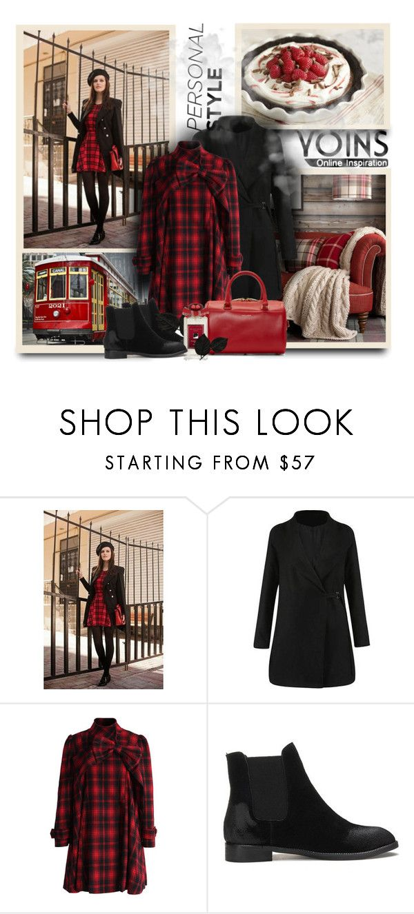 """""""Yoins13"""" by sneky ❤ liked on Polyvore featuring Chicwish, Yves Saint Laurent, Chanel, yoins and yoinscollection"""