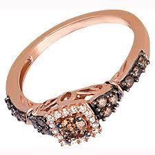 Rose Gold Ring Kay Jewelers Similar To My Chocolate Diamond Ring