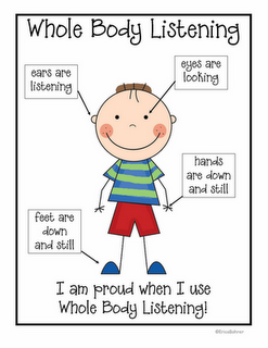 Helping kids with LD, ADHD or other differences understand body language is good; But also understand that some kids are challenged by such social norms. if a kid is shuffling his feel, making random hand motions and looking around the room does not mean he's not listening, it just means he might have ADHD, or other difference.