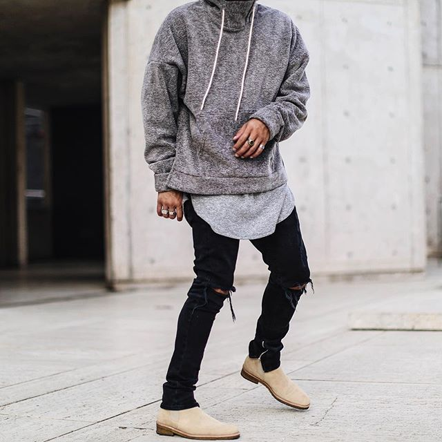 Simple Street Stunt | love men | Chelsea boots outfit, Mens