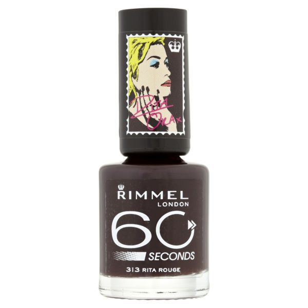 Rita Ora for Rimmel London 60 Seconds Nail Polish (€5,24) ❤ liked ...