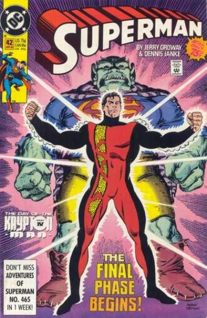 jerry ordway superman dennis janke