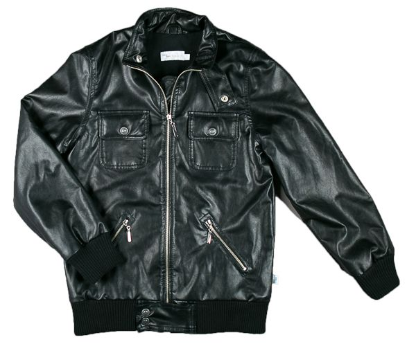 Leatherjacket for the boys – Mamsen & mini
