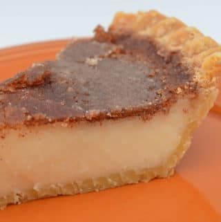 Cinnamon Sugar Cream Pie - Hot Rod's Recipes