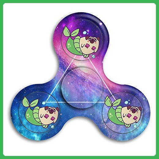 Pug Mermaid Parody Fid Spinner Toys Hand Spinner Tri fid