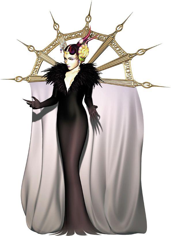 Sorceress Edea CG from Final Fantasy VIII