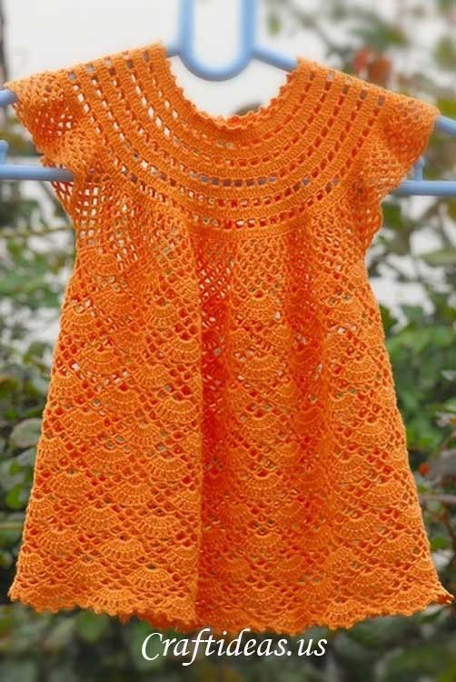 [Free Patterns] Gorgeous Crochet Dresses For Little Girls - Knit And Crochet Daily