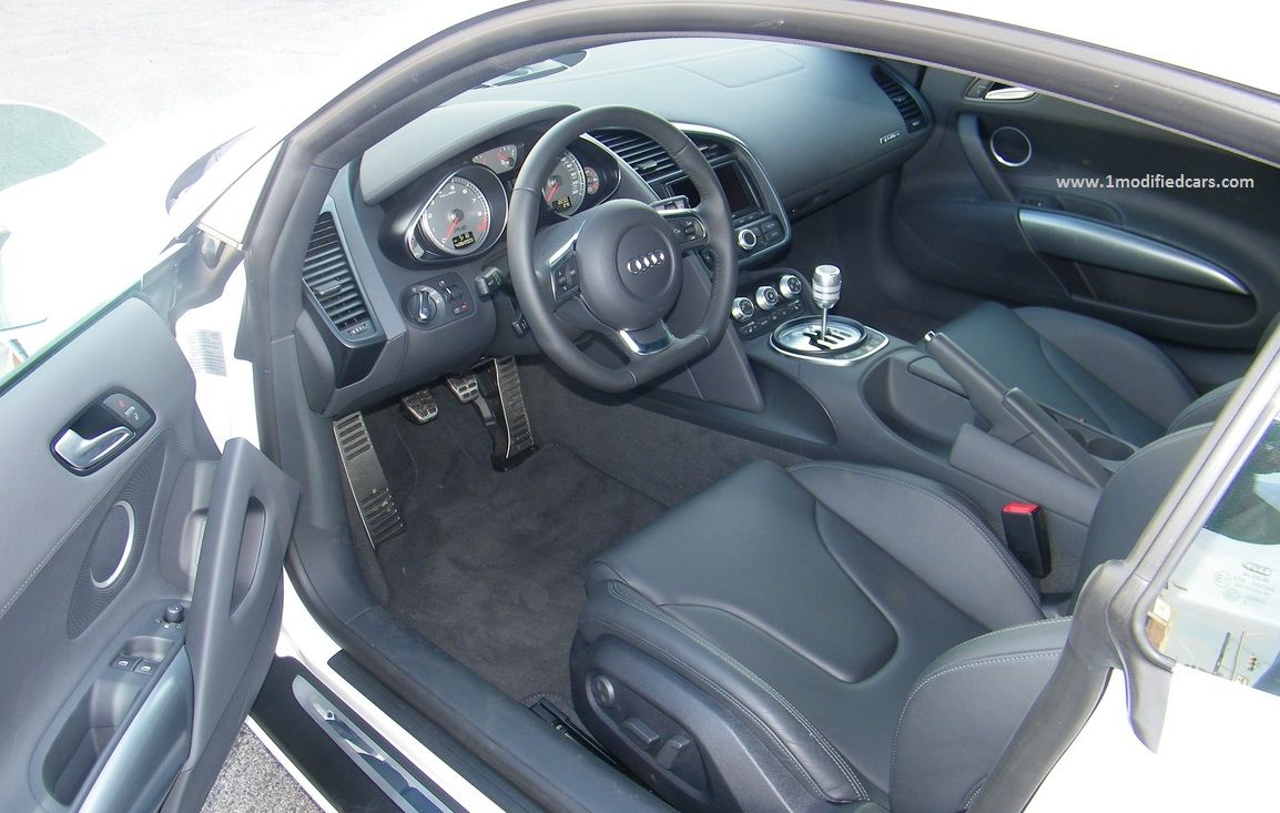 Modified Audi R8 V10 Comes With Bang Olufsen 465 Watt Sound System