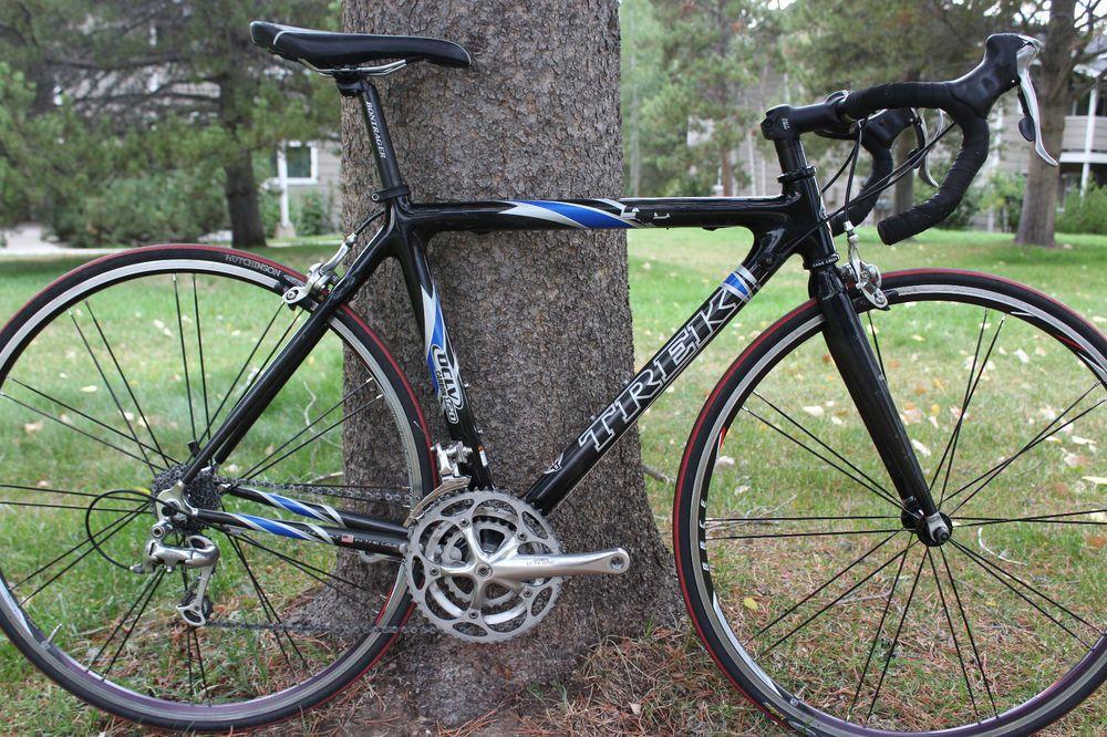 Trek 5000 Carbon Fiber Road Bike 52cm Ultegra Made In The Usa 5200 Racing Road Bicycle Bicycle Road Bike