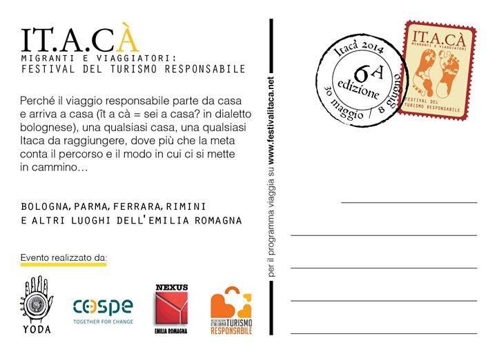 Festival del turismo responsabile - Cartolina da IT.A.CA'
