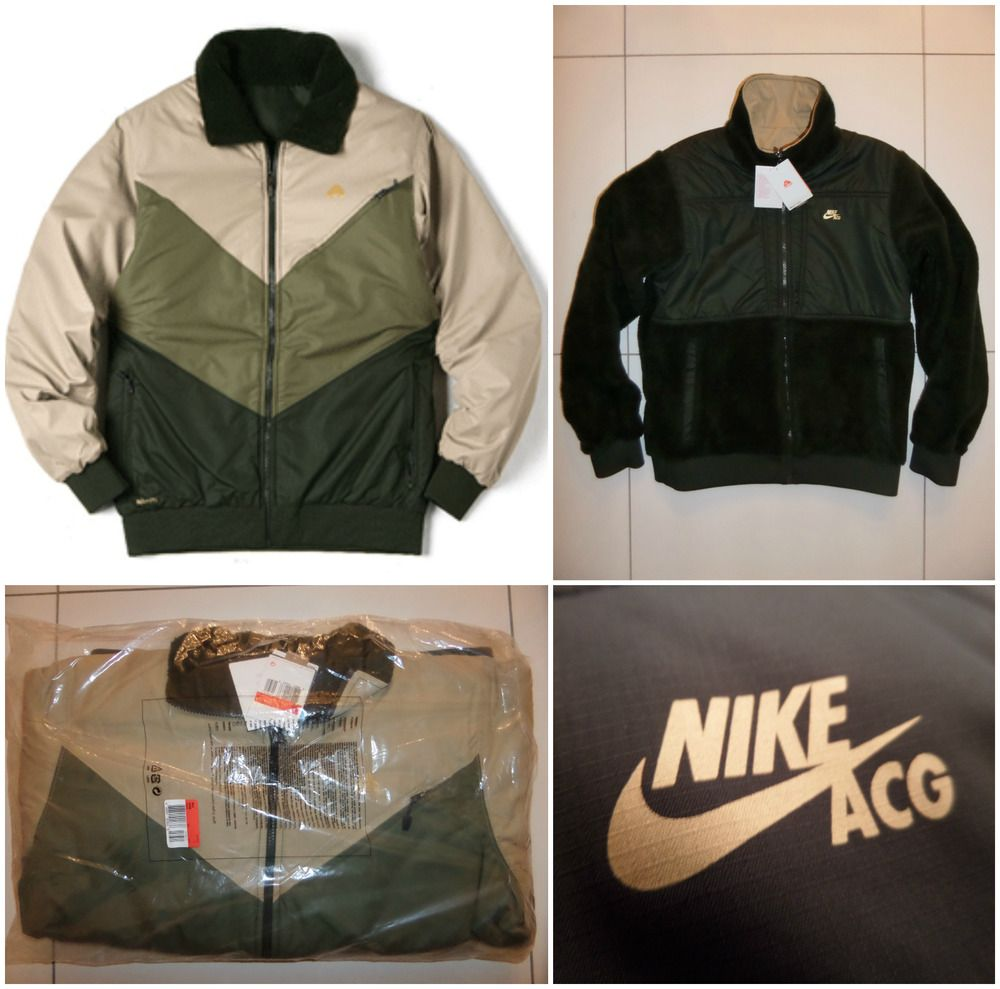 3afe799a7a51 NIKE ACG REVERSIBLE SKI JACKET COAT FLEECE STORMFIT CLIMA-FIT SNOWBOARD  MEN S L. Available in sizes Medium
