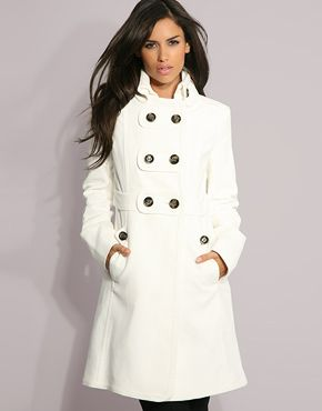 Mango Double Breasted Military Coat | Dressed | Pinterest | Double ...