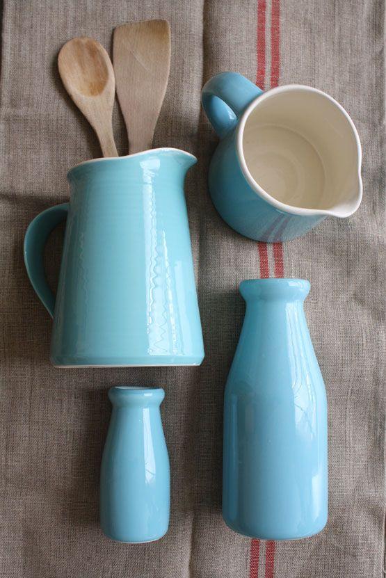 Turquoise jars turquoise style estilo turquoise for Menaje cocina japonesa