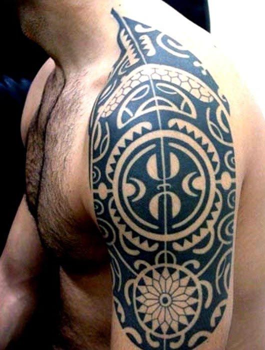 Top 60 Best Tribal Tattoos For Men Symbols Of Courage Dre S Tats