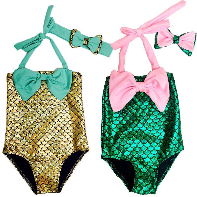8d8b38a5c11e2 Baby Girls The Little Mermaid Swimwear Swimsuit Bikini Set Bathing Suit  Clothing #Unbranded #BikiniSet